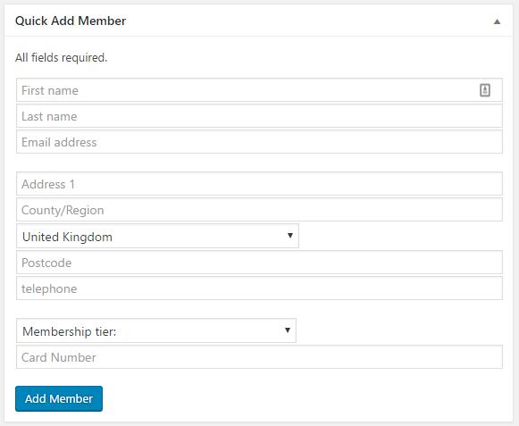 Wordpress plugin developer creates custom membership dashboard widget